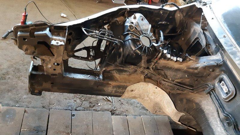 Лонжерон Bmw X6 E71 M57D30TU2 2009 передний правый