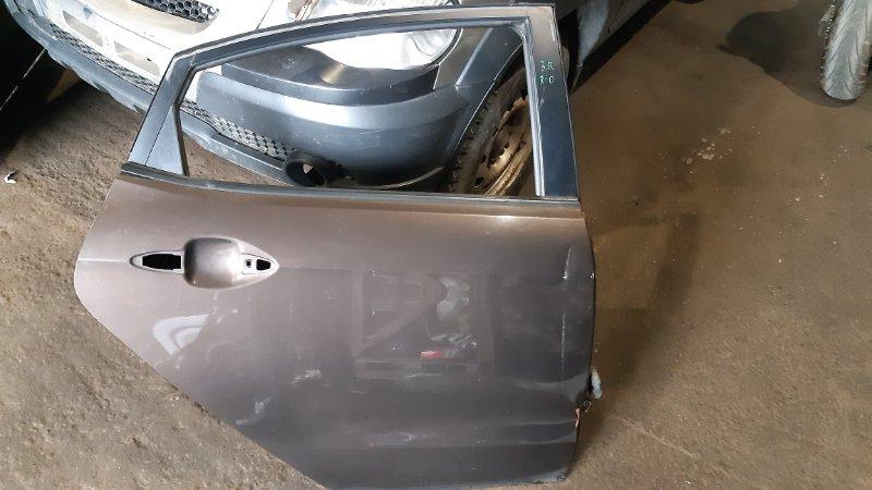 Дверь боковая Kia Rio FB D3FA 2014 задняя правая