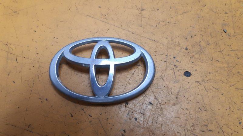 Эмблема решетки радиатора Toyota Rav4 ACA20 1AZFE 2005
