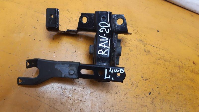 Подушка двигателя Toyota Rav4 ACA20 1AZFE 2005 левая