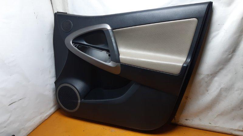 Обшивка двери Toyota Rav4 ACA30 1AZFE 2006 передняя правая