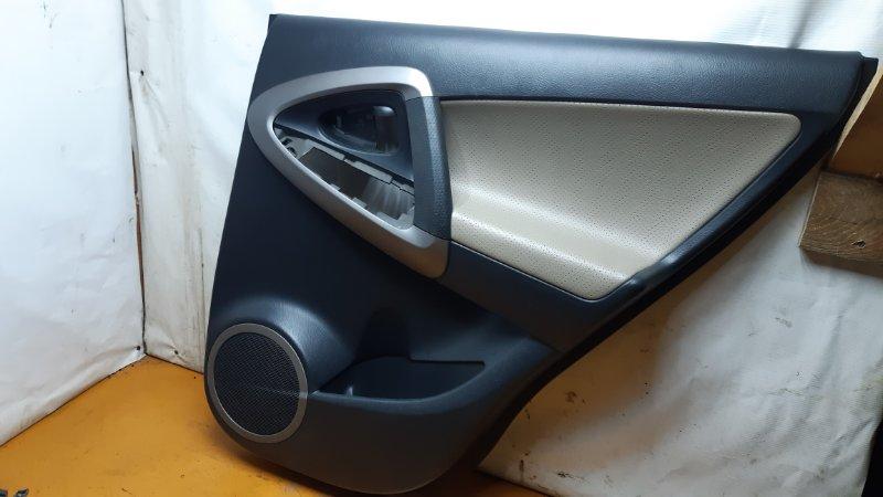 Обшивка двери Toyota Rav4 ACA30 1AZFE 2006 задняя правая