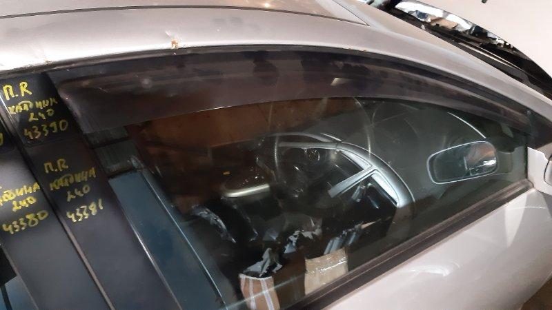 Ветровик Toyota Caldina AZT241 1AZFSE 2002 передний правый