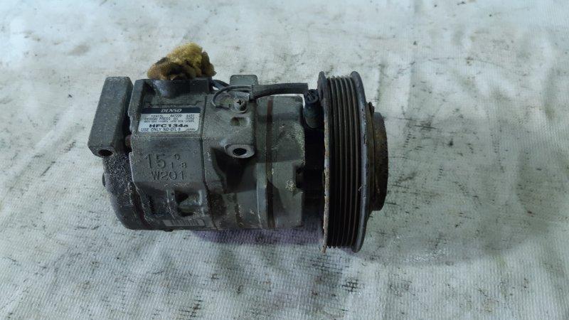 Компрессор кондиционера Toyota Caldina AZT241 1ZZFE 2002