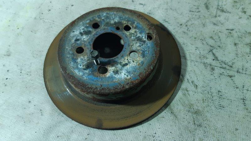 Диск тормозной задний Toyota Caldina AZT241 1AZFSE 2002