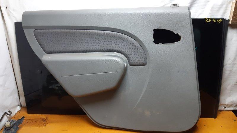 Обшивка двери Renault Logan LS0G D4D задняя левая