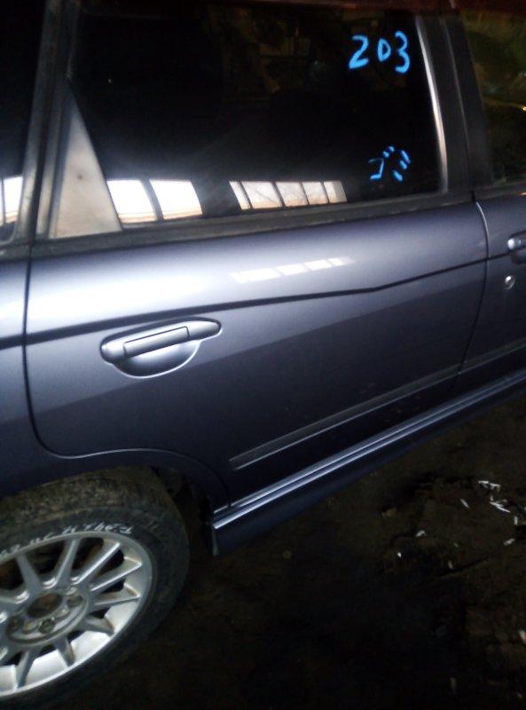 Дверь боковая Nissan Avenir PNW11 QG18DE 1998 задняя правая