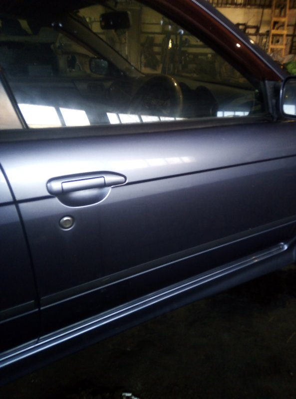 Дверь боковая Nissan Avenir PNW11 QG18DE 1998 передняя правая