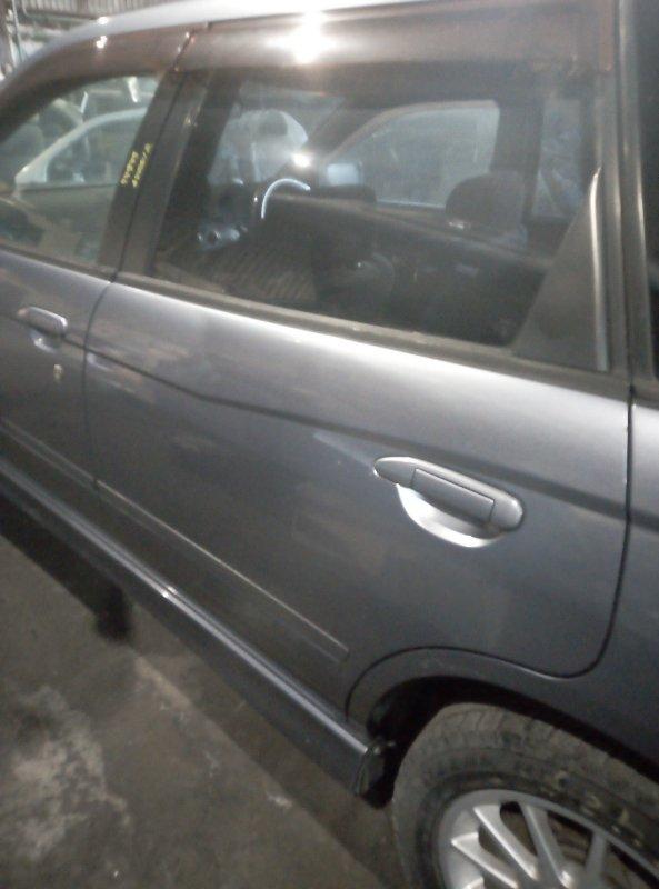 Дверь боковая Nissan Avenir PNW11 QG18DE 1998 задняя левая
