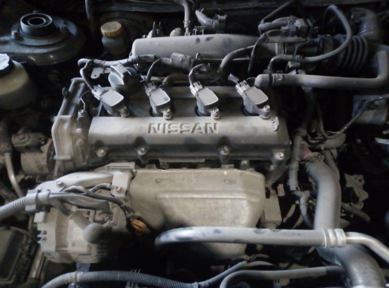 Двигатель Nissan Avenir PNW11 QR20DE 1998