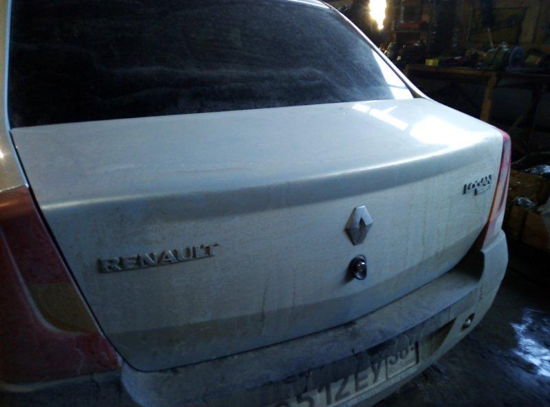 Крышка багажника Renault Logan LS0G D4D