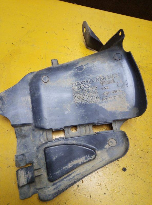 Защита двигателя Renault Logan LS0G D4D левая
