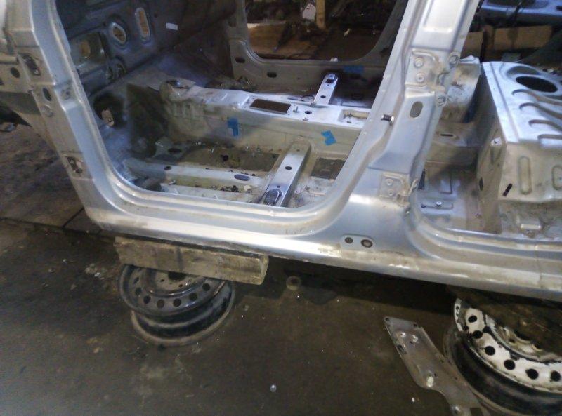 Порог кузовной Renault Logan LS0G D4D левый