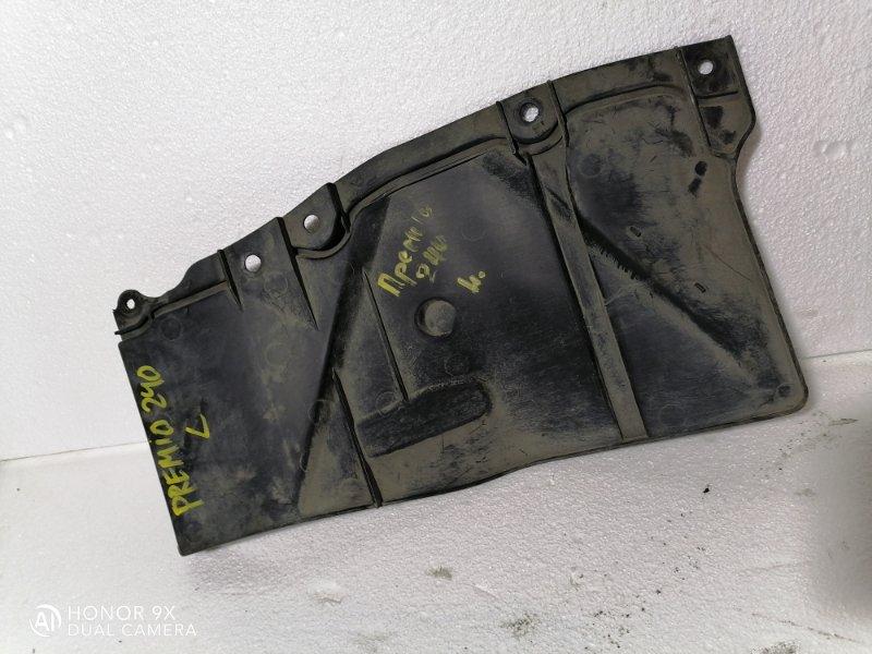 Защита двигателя Toyota Allion 240.245.ZZT240.NZT240.AZT240.ZZT240 левая