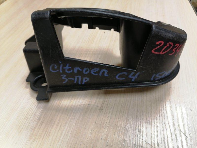 Крепление бампера Citroen C4 заднее правое