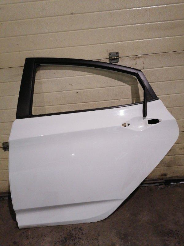 Дверь боковая Hyundai Solaris RB G4FA 2012 задняя левая