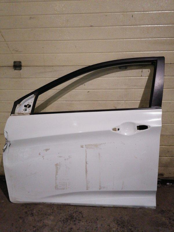 Дверь боковая Hyundai Solaris RB G4FA 2012 передняя левая