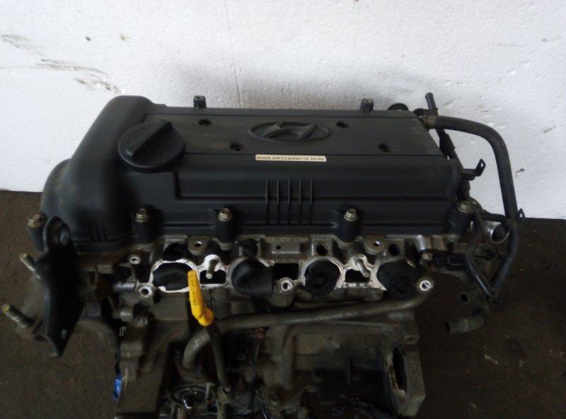 Двигатель Hyundai Solaris RB G4FA 2012