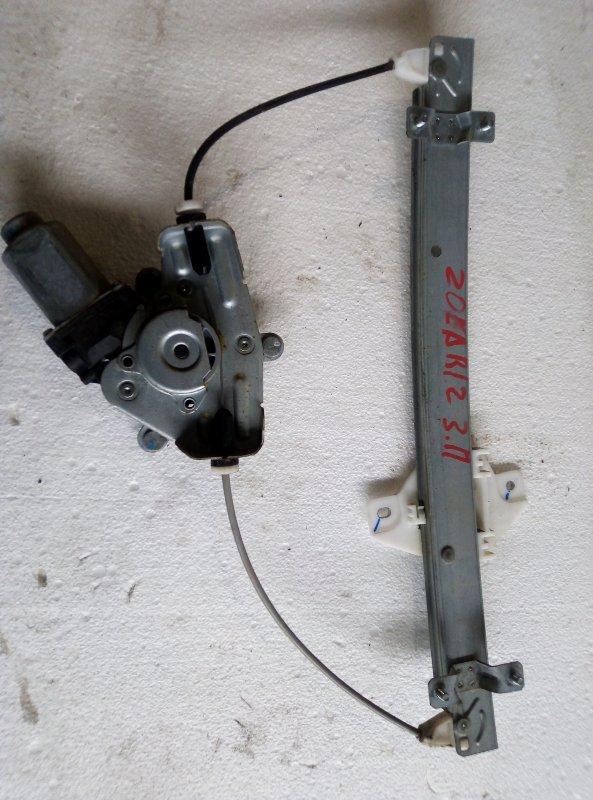 Стеклоподъемник Hyundai Solaris RB G4FA 2012 задний правый