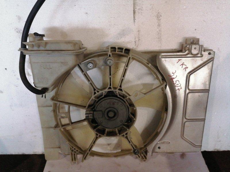 Диффузор радиатора Toyota Vitz KSP90 1KRFE 2008