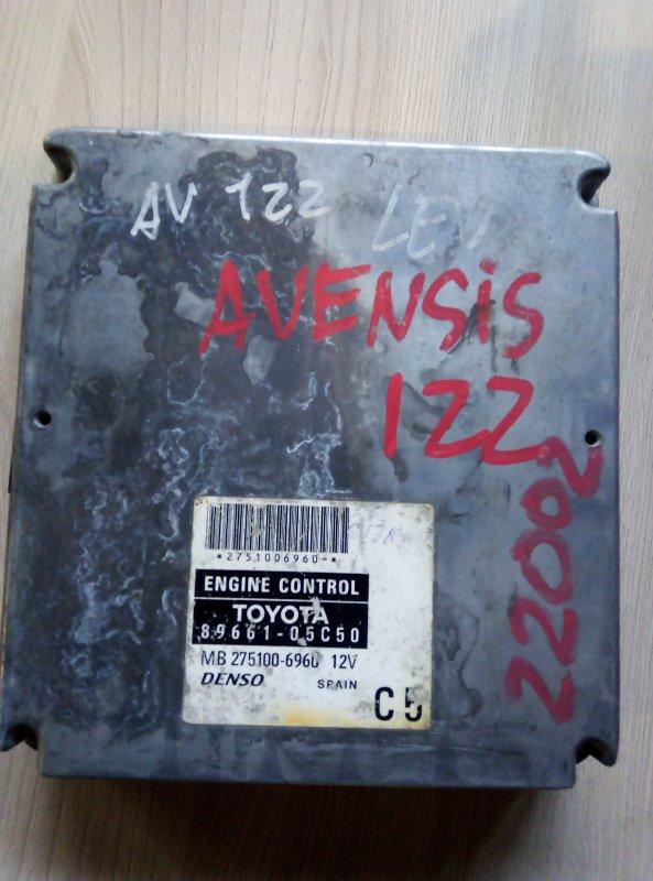 Блок управления двс Toyota Avensis