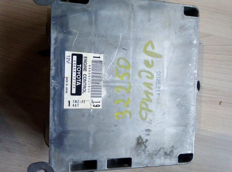 Блок управления двс Toyota Allex NZE121 1NZFE 2003