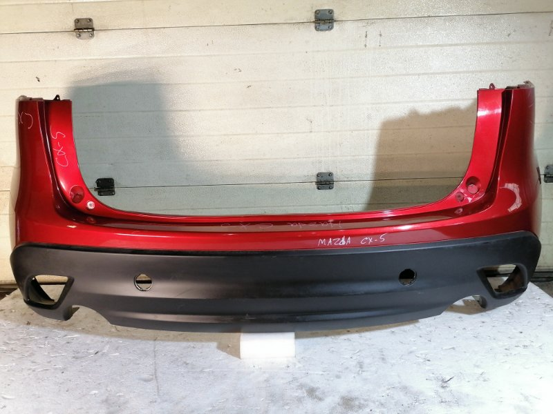 Бампер Mazda Cx5 задний