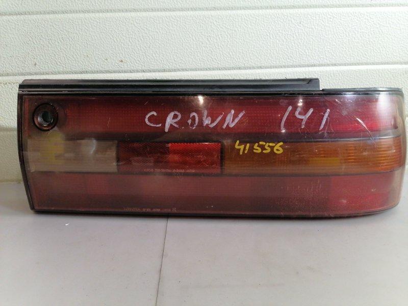 Стоп-сигнал Toyota Crown GS141 правый