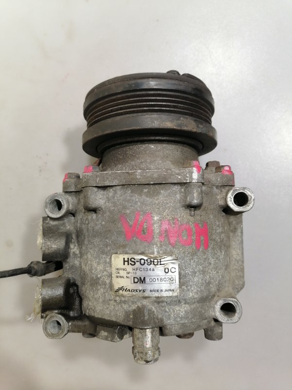Компрессор кондиционера Honda Stream RN1 D17A