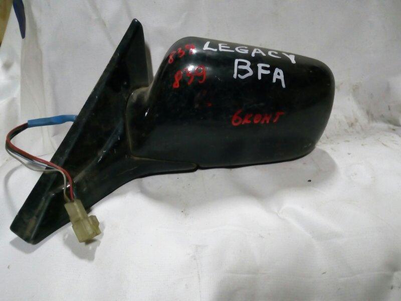 зеркало SUBARU LEGACY BF5 EJ202 1989-1993  левый