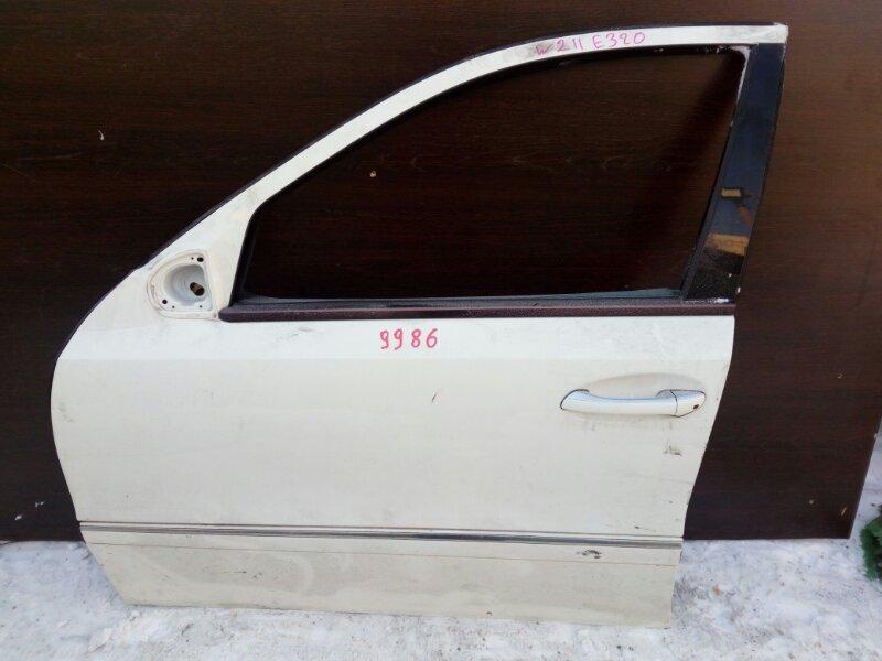 дверь MERCEDES-BENZ E-CLASS W211 112.949 2002-2006 передний левый