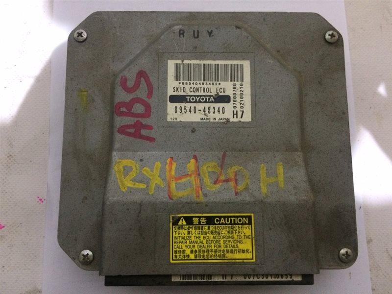 блок управления ABS LEXUS RX400H MHU38 3MZ-FE 2005-2009