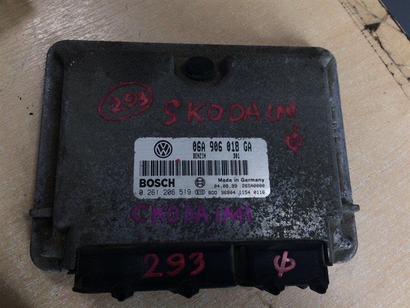 блок управления двигателя SKODA OCTAVIA 1U2 AGN-T 1996-2010