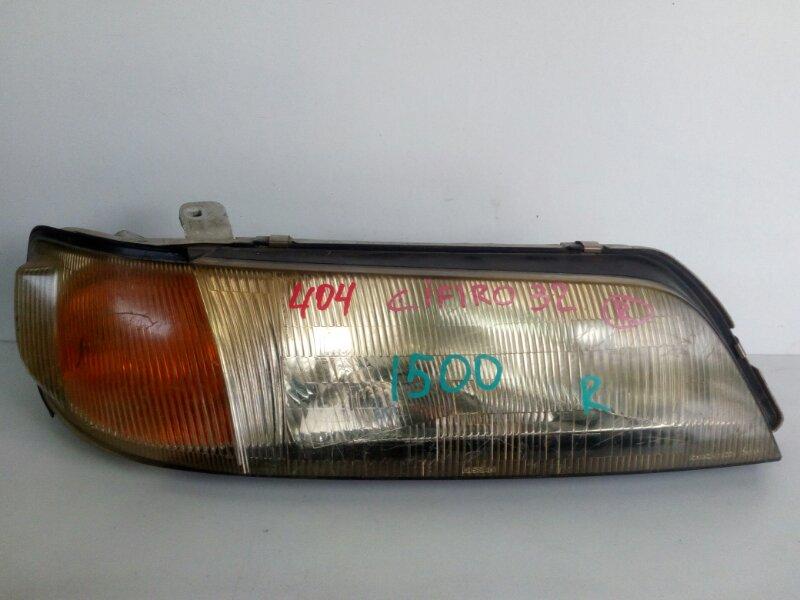 фара NISSAN CEFIRO A32 VQ20DE 1994-1996  правый