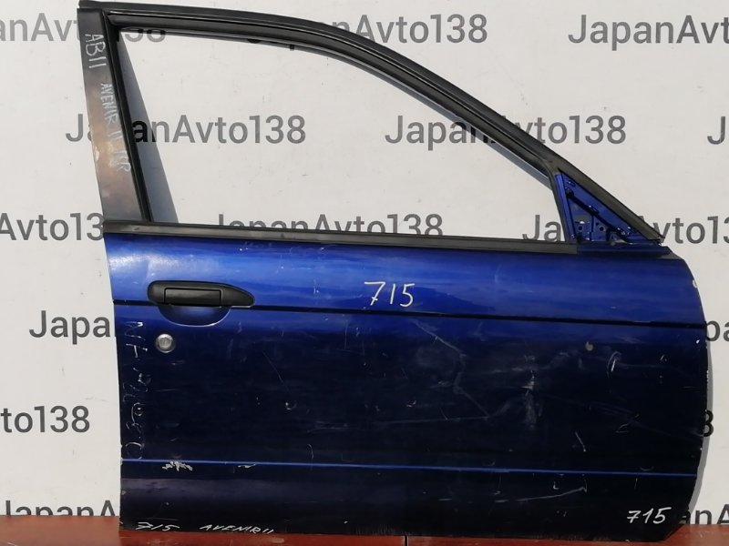 дверь NISSAN AVENIR W11 QG18DE 1998-2005 передний правый