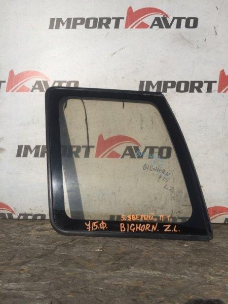 стекло собачника ISUZU BIGHORN UBS69DW 4JG2 1993-1998 задний левый