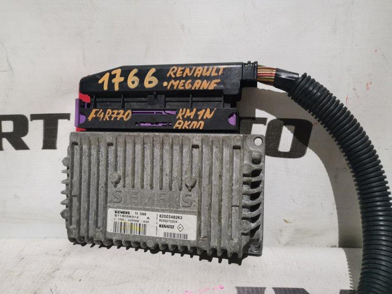 блок управления АКПП RENAULT MEGANE KM0U F4R 770 2002-2005