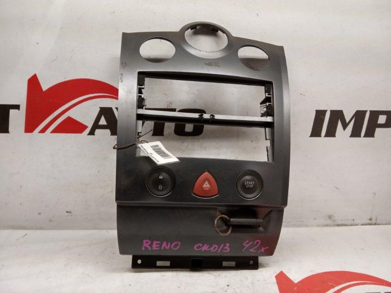консоль центральная RENAULT MEGANE KM0U F4R 2006-2009