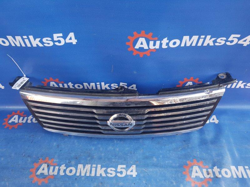 Решетка радиатора Nissan Sunny FNB15 QG15DE 2001