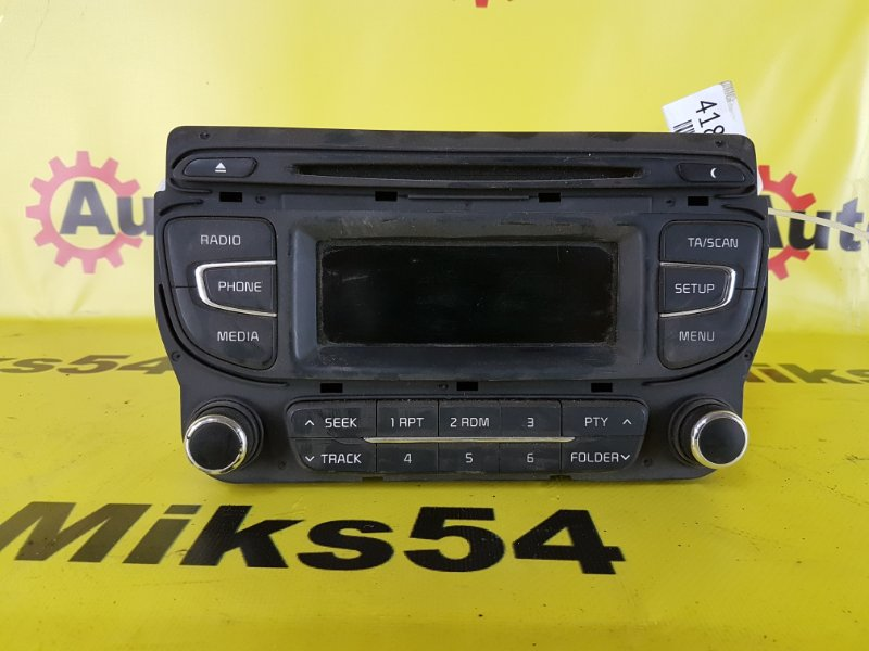 Магнитофон Kia Ceed G4FG 2015