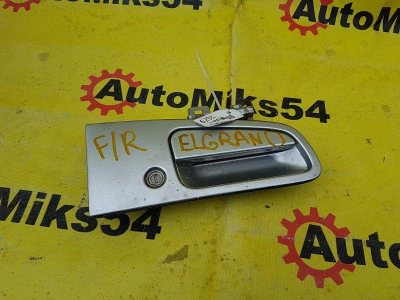 Ручка двери внешняя Nissan Elgrand ALWE50 QD32ETI 1998 передняя правая