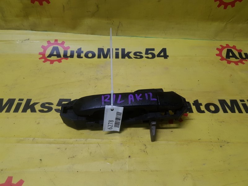 Ручка двери внешняя Nissan March AK12 задняя левая