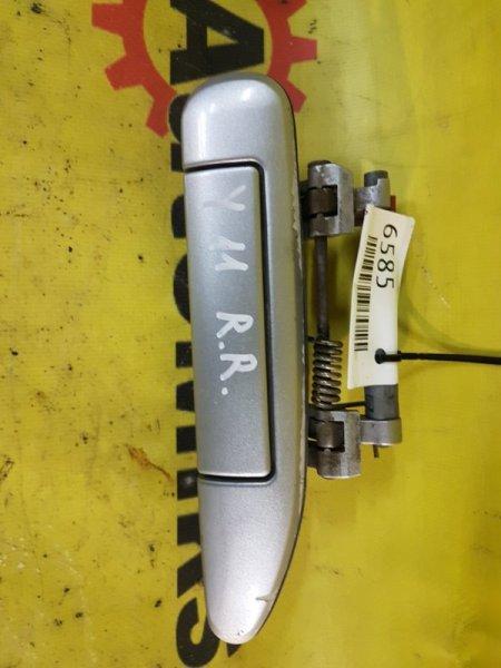 Ручка двери внешняя Nissan Wingroad WFNY11 QG15 2003 задняя правая