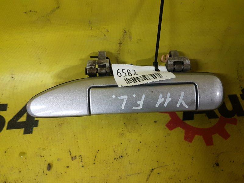 Ручка двери внешняя Nissan Wingroad WFNY11 QG15 2003 передняя левая