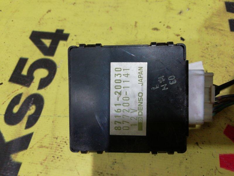 Блок управления климат-контролем Toyota Camry Prominent VZV32 4VZ-FE