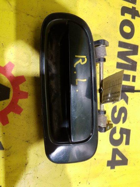 Ручка двери внешняя Toyota Camry Prominent VZV32 4VZ-FE задняя левая