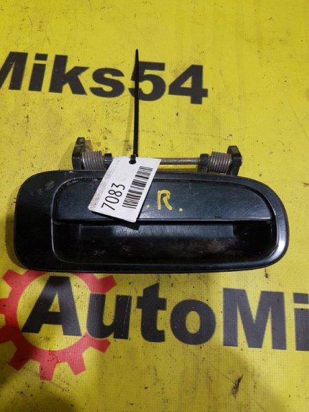 Ручка двери внешняя Toyota Camry Prominent VZV32 4VZ-FE задняя правая