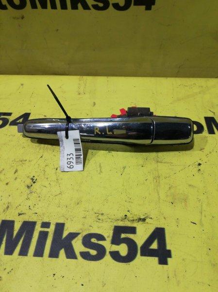 Ручка двери внешняя Mitsubishi Lancer Cedia CS5A 4G93 задняя левая