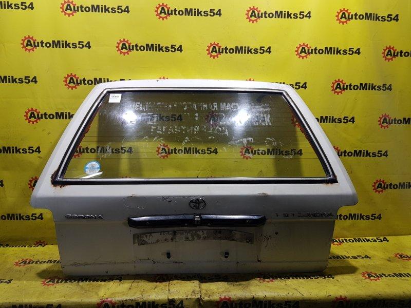Дверь багажника Toyota Corona ET176 3E 1992 задняя