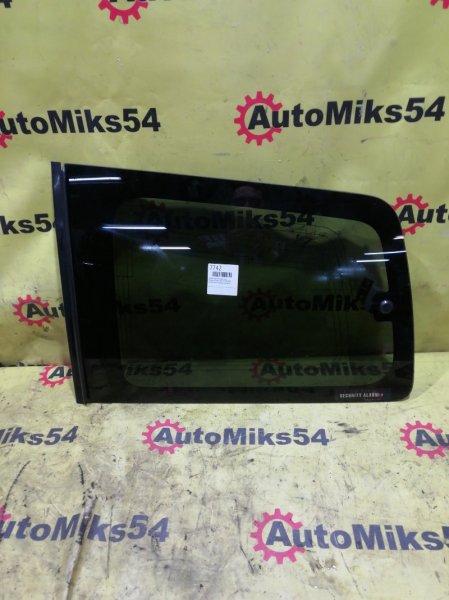 Стекло собачника Mitsubishi Pajero V73W 6G72 2002 заднее левое